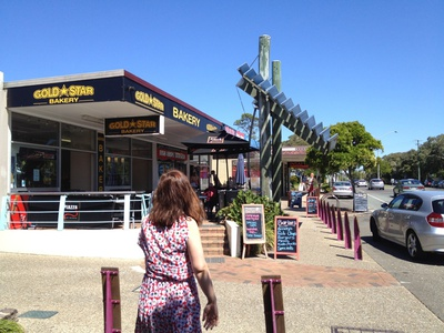 Nearby Beerburrum St has all the shops for your needs