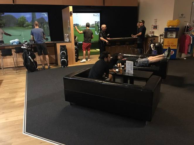 optigolf wa,indoor golf lounge,