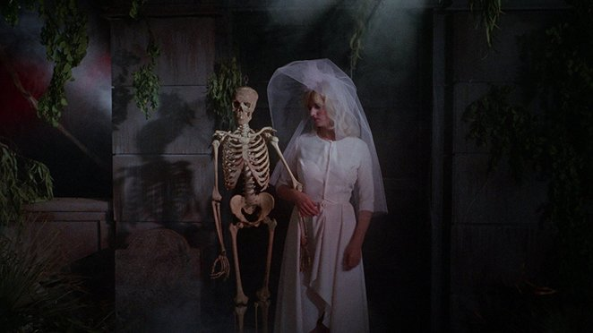 Orgy Of The Dead, skeleton, bride, groom, wedding, Sexy, Orgy, Horror, 60's, The Mummy, The Wolf Man, Werewolf, Horror Movie, Horror Film, Nudie Cuties, Swinging Sixties, Dance, Dance Movie, Zombie, Vampire, Goth, Gothic