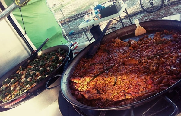 Paella,at,Event