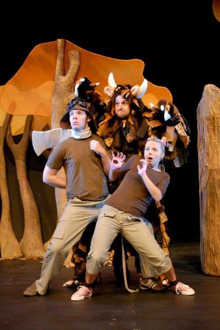 Perth, theatre, musicals, family, children, early childhood, The Gruffalo