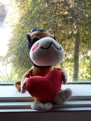 plush, toy, valentine's, day