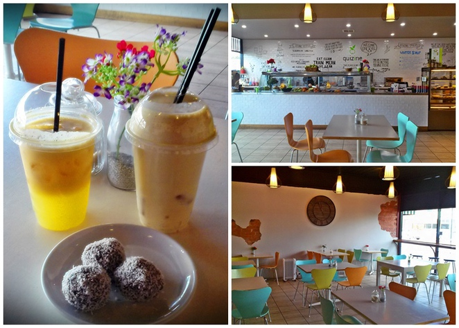 quizine, canberra, ACT, healthy cafes, best cafes, fitness, smoothies, protein balls,