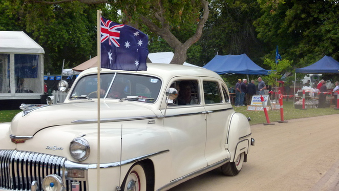 RACV Australia Day Picnic and Federation Vehicle Display