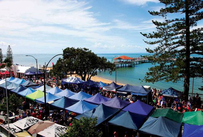 Photo courtesy of the Redcliffe Jetty Markets