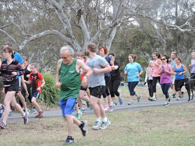 parkrun at Balyang Sanctuary, Geelong