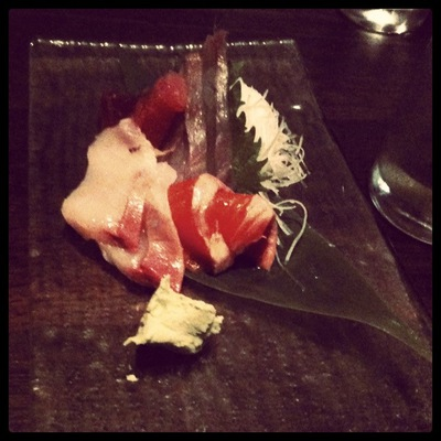 Sashimi @ Sake (Photo instagram @neelsmcgee)