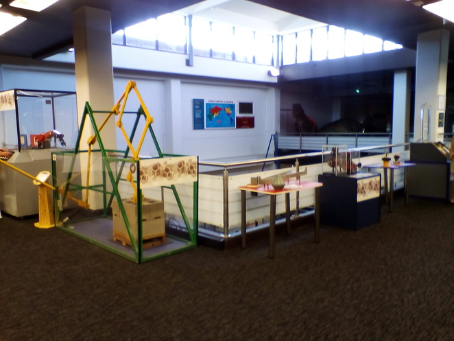 Science space, interactive exhibit