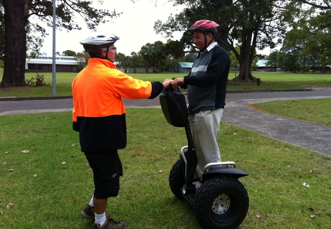 Segway, tours, Central Coast
