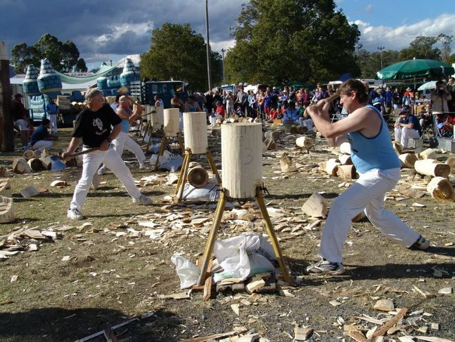 Stroud Woodchopping Contest