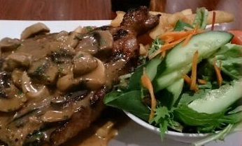 T-Bone steak club italia sporting club bistro