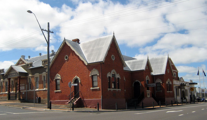 The Tenterfield School of Arts, where the push to become a single federated Australia was started