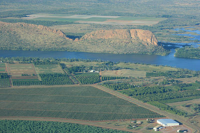 The majestic Ord River, Western Australia. Image is from Wikimedia Commons (by isthatdaves).