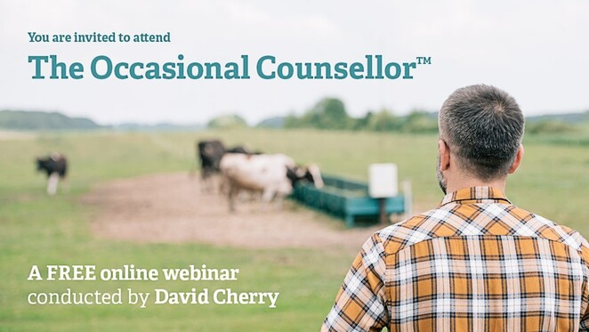 the occasional counsellor, greater city of bendigo, city of greater bendigo, emotional health, mental health, david cherry, clinical and forensic psychologist, free online webinar, community event, fun things to do, educational