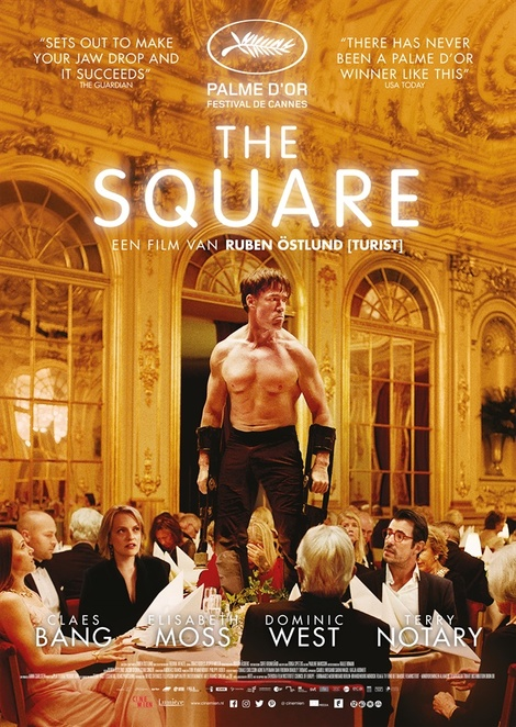 The Square, The Square film, The Square film review, The Square movie, The Square movie review, film reviews, movie reviews, award-winning films, award-winning movies, new releases, current cinema