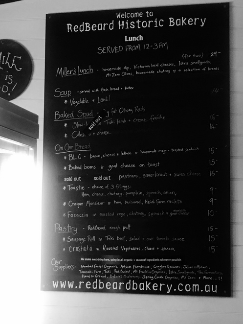 trentham, mount macedon, woodend, hanging rock, victoria, country, bakery, bakery, oven, cafe, restaurant, lunch, brunch, breakfast, licensed, family, drive, bread, sourdough, menu
