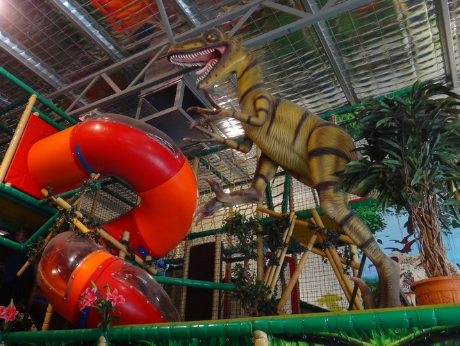 triassic, canning vale, dinosaurs, play centre, triassic fun park, soft play