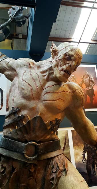 Weta Cave, Wellington, New Zealand, tours, imagination, cinema, props, costumes, Lord of the Rings