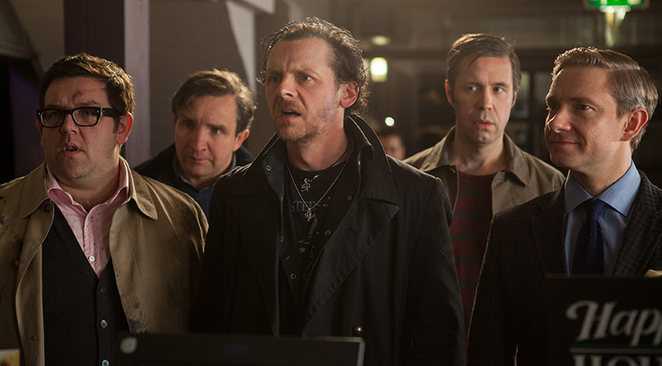 World's End Pegg Freeman, Marsan, Frost, Considine