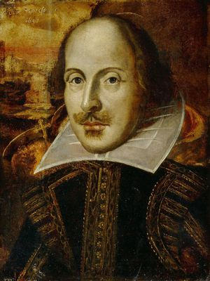 The Flower portrait of William Shakespeare