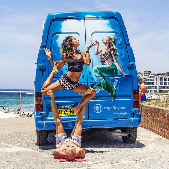 yoga bondi beach