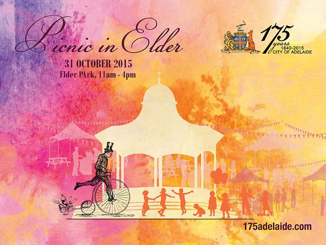 Picnic in Elder - Celebrating 175 Years of the City of Adelaide