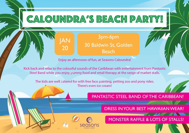 Caloundra's Beach Party