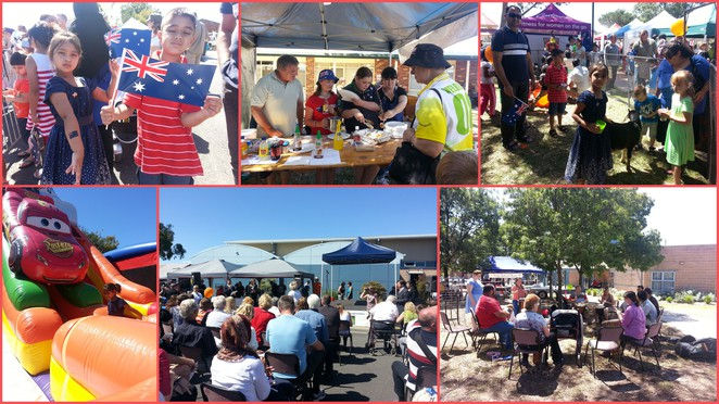 australia day, hampton park progress association, day of nations