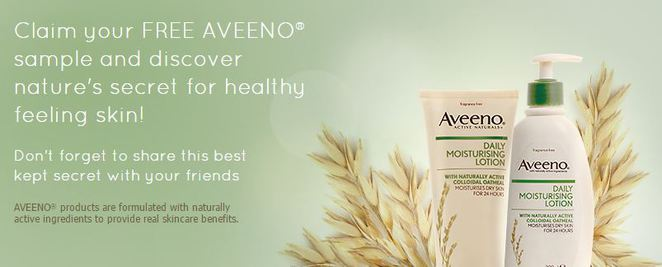aveeno free products by mail online
