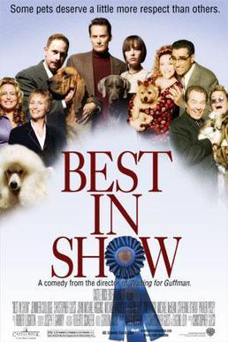 best in show, movies for dog lovers, movies about dogs, mockumentary, Christopher Guest