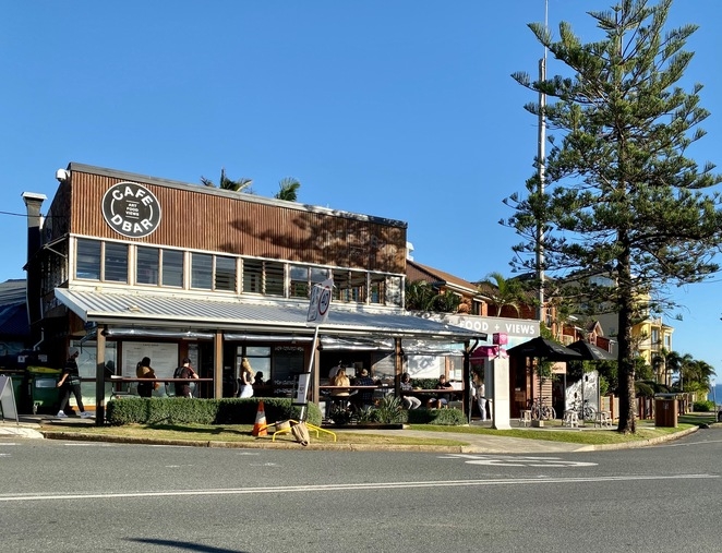 Cafe D'Bar at Point Danger on the Gold Coast