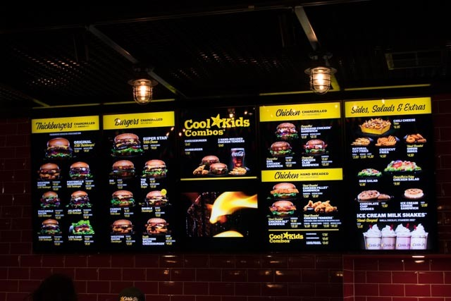 Carl's Jr, Mt Barker, Burgers