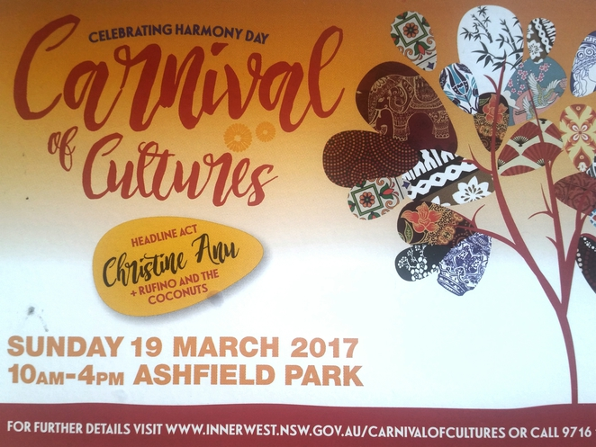 carnival of cultures 2017, ashfield, inner west, sydney, free, family-friendly, community event