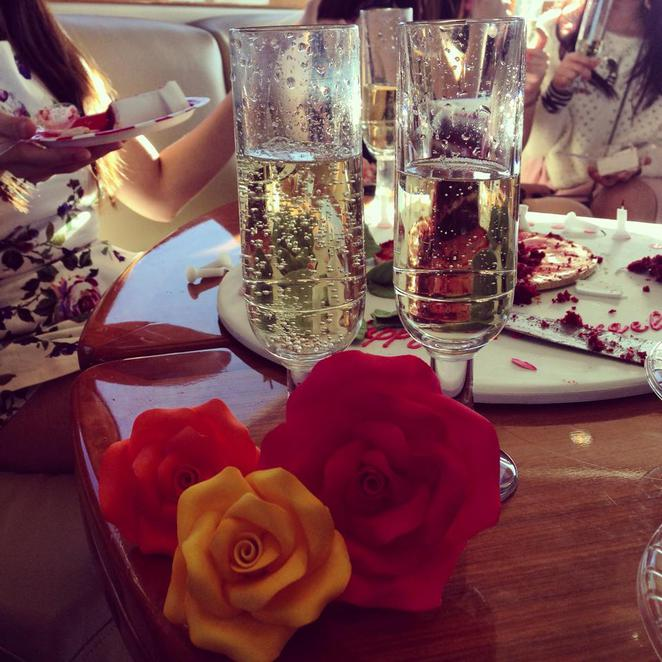 champagne, birthday, flowers, masterpiece, sweet art, design, event, cruise, yacht, boat