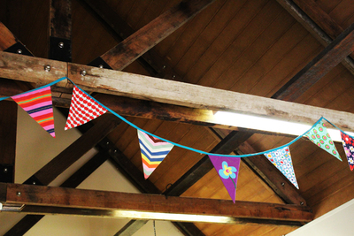 cherry seed cupcakes, bunting, ginninderra village, canberra's best cupcakes