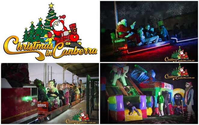 christmas in canberra, 2019, symonston, canberra miniature railway, miniature train, xmas, 2019, canberra, kids, children, events, ACT,