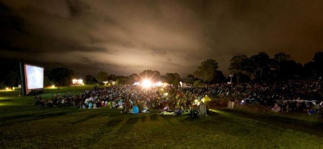 cinema under the stars, macarthur, september, family activities