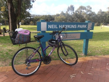 Neil Hawkins Park in Joondalup is a great place for a family ride