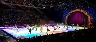 disney, Mickey Mouse, ice skating, show, kids, family