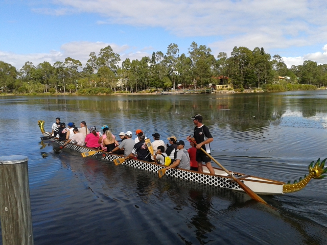 Dragon Boating at Forest Lake