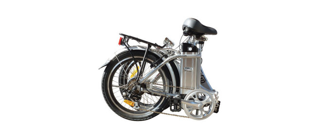 Folding bikes are light and are easily stored