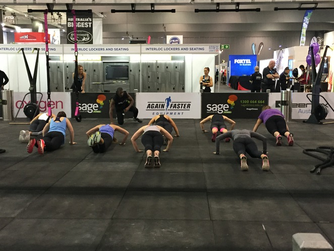 Fitness and health expo Melbourne, Fitness and health expo 2015, Max Philisaire