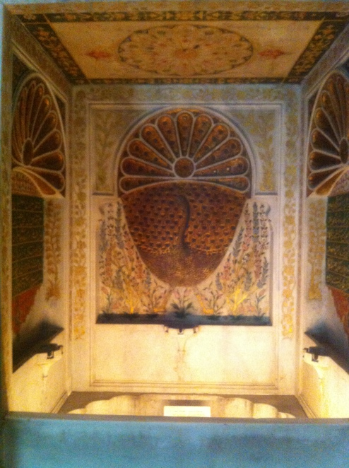 fountain, istanbul, museum, archaeology, tiled, kiosk