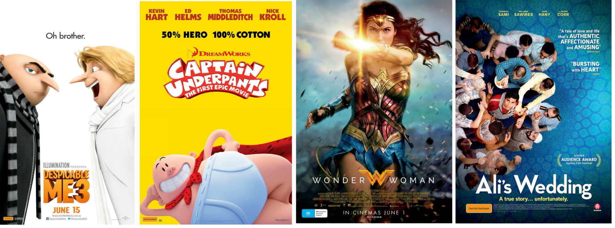 Summer Movies 2018 Posters: Hobsons Bay Summer Events 2018: Movies By The Bay & Summer