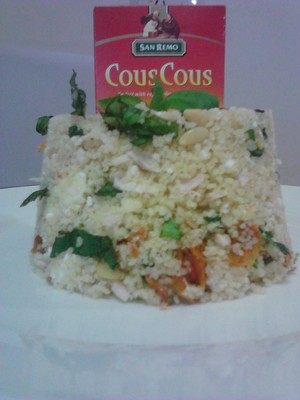 Chicken, Basil, Sundried Tomato CousCous