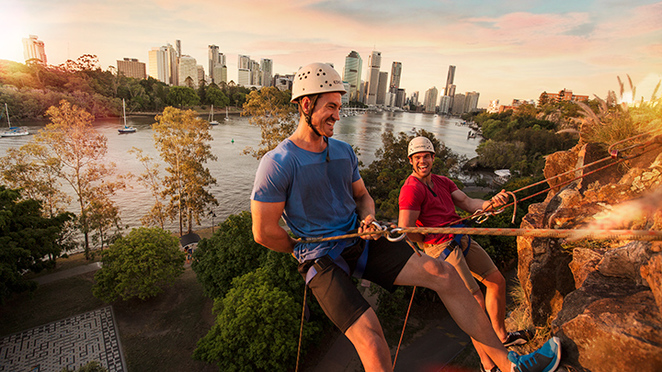 Kangaroo Point Cliffs, Brisbane,