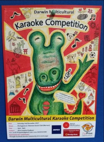 karaoke, multiculture event, native songs, native language, Darwin, song, singing, singing competition, free, Darwin Multicultural Karaoke Competition