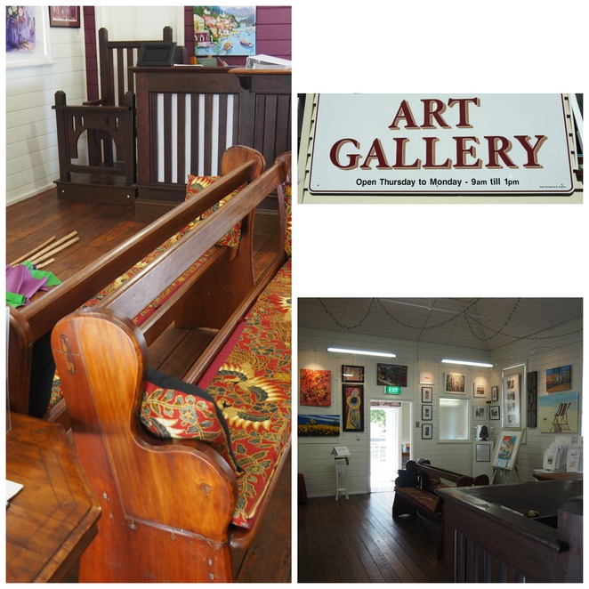 kilcoy Courthouse Art Gallery, Art, local artists,