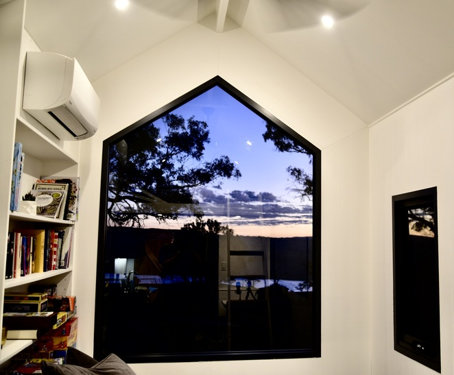 Kindled, tiny house, image by Jade jackson, stay in a tiny house, Bathurst accommodation, off the grid accommodation, room with a view