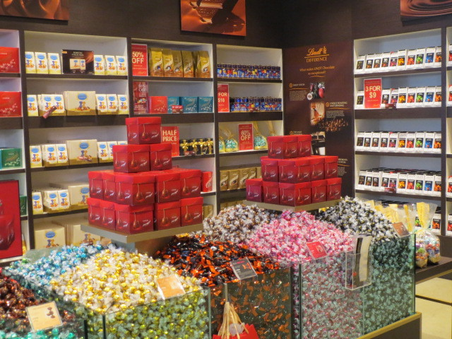 Lindt Chocolate Shop, Lindor Pick and Mix Bin, Adelaide